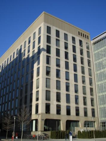 Moderna Therapeutics, a Cambridge biotech firm, has moved its headquarters to 200 Technology Square in Kendall Square.