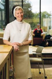 Sister Barbara Thomas:  Cor Jesu has increased enrollment  by 21 students by expanding its geographic reach.