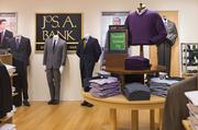 Jos. A. Bank was named the best place for men's business clothing.