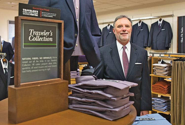 Jos. A. Bank CEO R. Neal Black says the company is considering a bid from Men's Wearhouse, but it also eyeing other merger partners.
