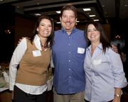 Pam Hamburg, Jerry Chapman and Rita Ruecker of Western Health Advantage pose at the Business Journal's Best Places to Work awards Tuesday. Western Health came in second place in the medium companies category.