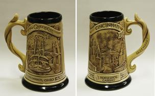 The Rookwood Pottery Co. created a limited-edition stein to commemorate the opening of Horseshoe Casino Cincinnati.
