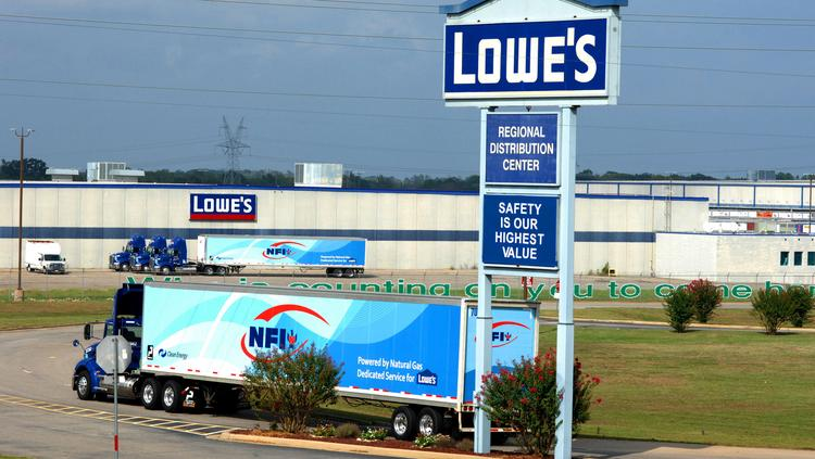 Lowe's Cos. Inc. (NYSE:LOW), based in Mooresville, is the nation's second-largest home-improvement retailer.