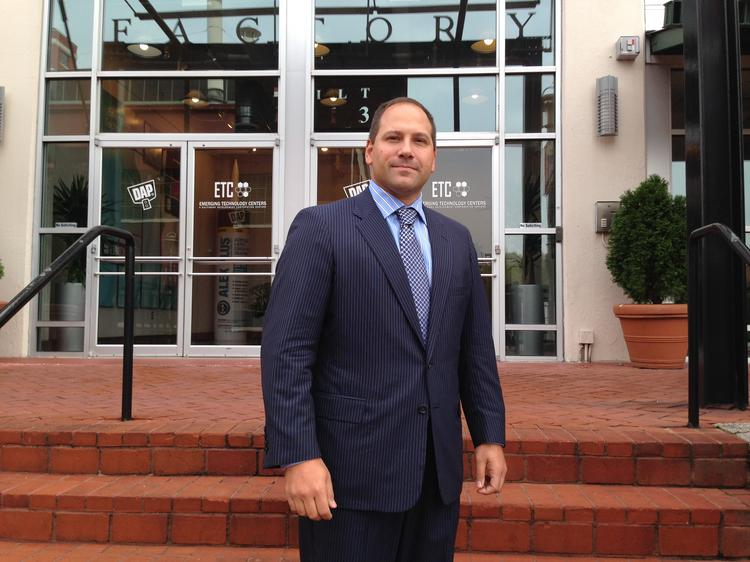 Mike Geppi moved Integrata from the Emerging Technology Center in Canton to bwtech@UMBC.
