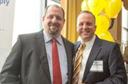 Lester Wolf, director of development, New York Life; and Ed Nemec, managing partner, New York Life.