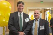Robert Wheler, commercial lender, Susquehanna Bank; and Kevin Kearney, commercial lender, Susquehanna Bank.