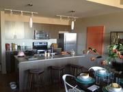 A Cadence apartment kitchen