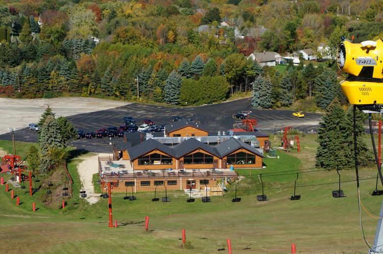 The Schmitz brothers spent more than $500,000 on improvements to the Little Switzerland ski hill before reopening it a year ago.