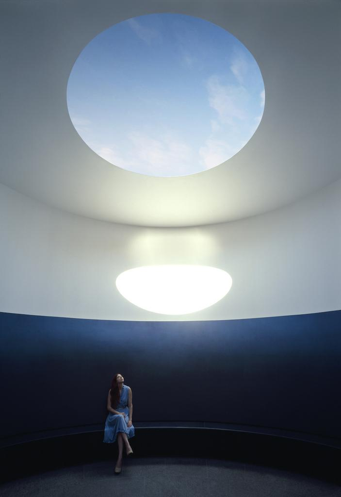 The Color Inside by James Turrell, which opens Friday on the University of Texas at Austin campus, explores humans' connection with space and light.