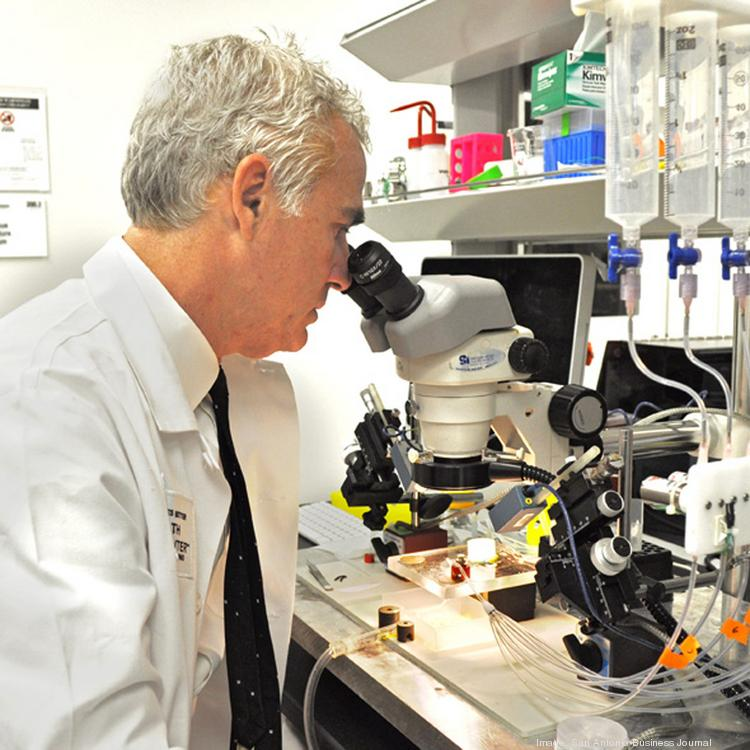 The University of Texas Health Science Center at San Antonio's David Weiss, Ph.D., says research funding is becoming more scarce.