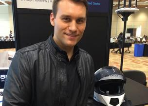 Skully Helmets, led by CEO Marcus Weller, won one of the coveted Demo God awards at this week's Demo Fall show in Santa Clara. The Redwood City company's