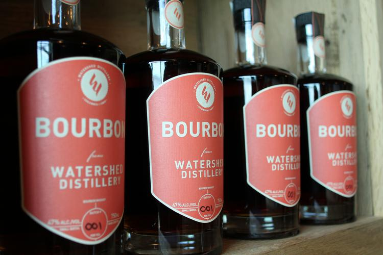 Watershed Distillery is crafting a special blend of bourbon selected by employees of Taste Hospitality Group, which owns Hubbard Grille in the Short North and Mezzo in Dublin. The blend will be sold only in Taste Hospitality's restaurants.