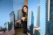 Vanessa Sturgeon, president of TMT Development, posed with renderings of Park Avenue West as the company worked to secure the Portland Development Commission as a tenant in 2010 in a bid to restart the project. The PDC opted to renew its lease in Old Town/Chinatown.