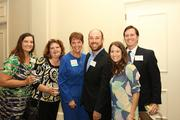 The team from Harmony Home Health was there in support of finalist and winner Linda Burhans, third from left.