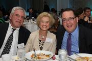Jeff Schoenbaum with Betty Schoenbaum, the 2013 Philanthropist of the Year, alongside TBBJ Editor Alexis Muellner.