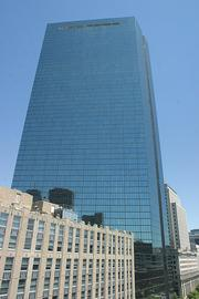 Kevin White (1968-1984); 16.8 million square feet (1 million sf/year), Biggest buildings: 1. John Hancock tower (pictured), 1976 (1.8M sf), 2. 100 Federal, 1971 (1.3M sf), 3. One Federal, 1976 (1.1M sf), 4. Federal Reserve tower, 1978 (1.1M sf), 5. 100 Summer, 1974 (1M sf)