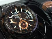 Seiko's Astron solar-powered watch automatically adjusts the time using GPS satellites. It retails for $3,850.