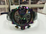 This Graham Booster Iris watch is one of the most polarizing in the TimeScape store, watchmaker Jacob Sobell said. It retails for $17,500.