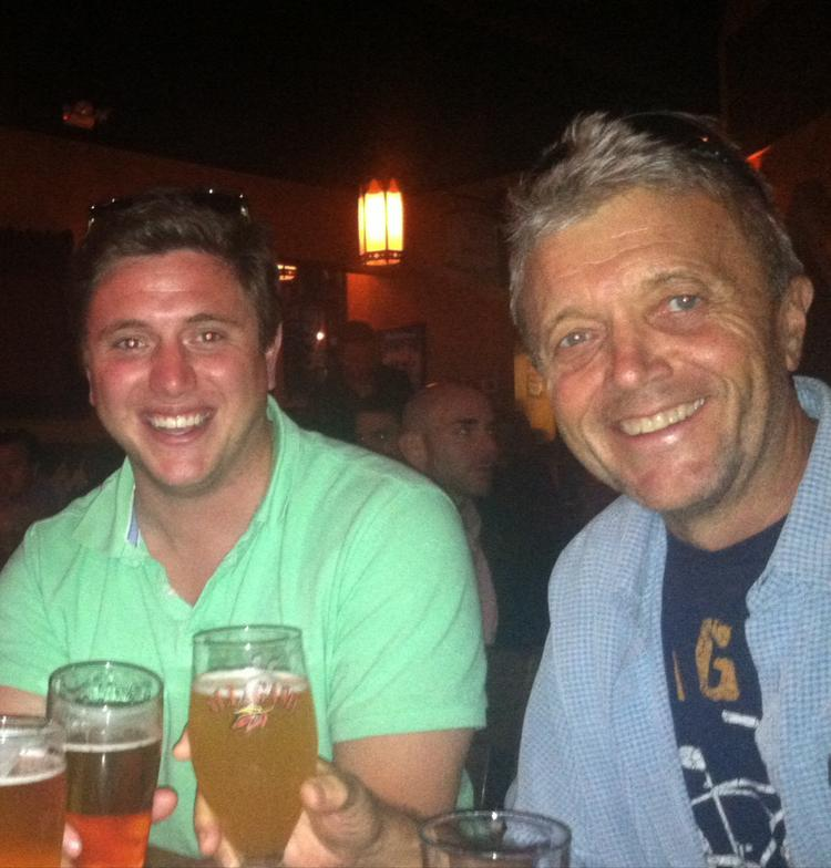 Father-and-son team Christian Weber and Bert Weber will invest $500,000 to open a microbrewery in South Glens Falls, NY early next year.