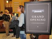 """Di Bruno Bros.' drew a crowd for its so-called """"soft opening."""""""