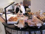 The pastry counter.