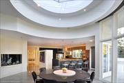 Interior of Michael Jordan's Chicago-area home, set to be auctioned in November.