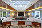 The interior of Michael Jordan's Chicago-area home, set to be auctioned in November.
