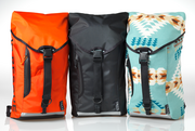 Truce Designs founder Luke Mathers says he started his bag company to give use to recycled materials like sailcloth and drysuit nylon.