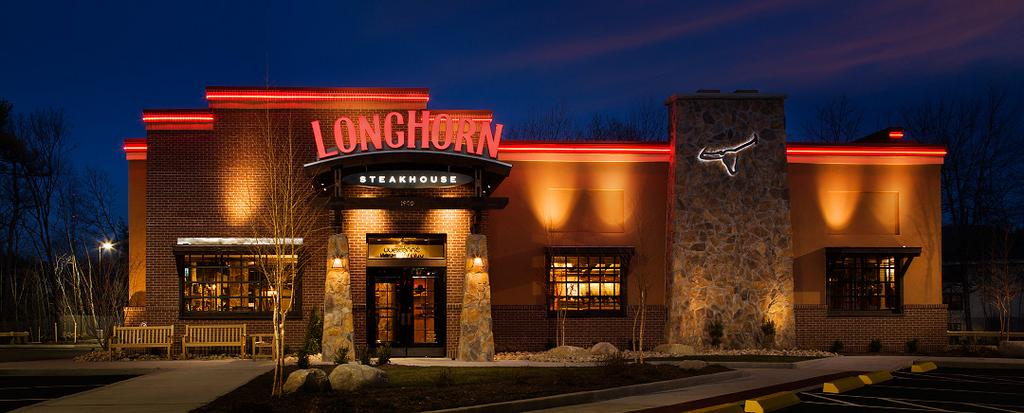 Longhorn Steakhouse Is Working On A Site Plan For What Would Be Its First Restaurant In