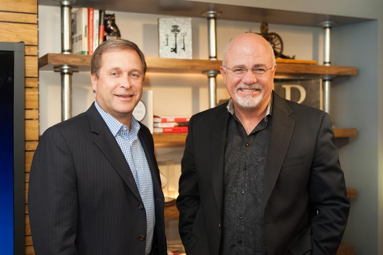 Ben Leedle Jr., left, is president and CEO of Healthways. Radio personality Dave Ramsey, right, is president and CEO of The Lampo Group.