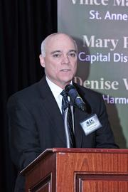 CFO of the Year honoree Jerry Hennigan, CFO of The Galesi Group in Rotterdam, NY.