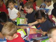 Students at Madison Elementary in Phoenix are given free copies of Jeremy Jackrabbit.