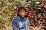 Ola Sage in the late 1970s growing up in Nigeria, West Africa.