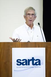 Morning Star Company ag research and development coordinator Bill Reinert shares his insight on technology in food growing and processing at the SARTA CleanStart/AgStart Showcase.