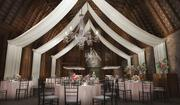 A rendering captures some of the charm that could be designed into a wedding reception at the Brodie barn.