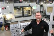 Paul Hogoboom, president and chief operating officer of P&J Machining Inc., created the system after lots of reading, and visiting non-aerospace companies in California's silicon valley.