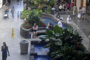 Landscaped gardens and koi ponds also add to Ala Moana Center's Hawaiian sense of place.
