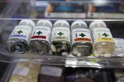 Medical marijuana tablets sit on display at the MedMar Healing Center, a medical-marijuana dispensary, in San Jose, Calif., on Feb. 7, 2013. San Jose is the medical marijuana capital of Silicon Valley, with 106 clinics – about twice as many per square mile as Los Angeles.