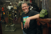 FrightTown founder Dave Helfrey, aka Baron Von Goolo, has been producing haunted houses at Memorial Coliseum for nine years.