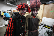 Brothers Cody Schroeder and Josh Osteen are enjoying their first year of haunting at FrightTown.