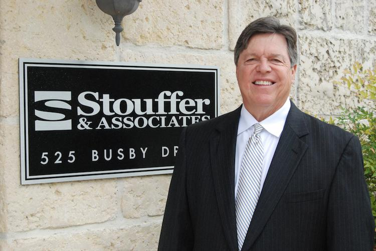 Blair Stouffer, the managing partner and owner of Stouffer & Associates appraisal firm, opened a branch in downtown Austin. He's a former UT baseball star.