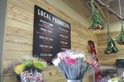 The market touts local producers and more than 100 will provide goods when the store opens.
