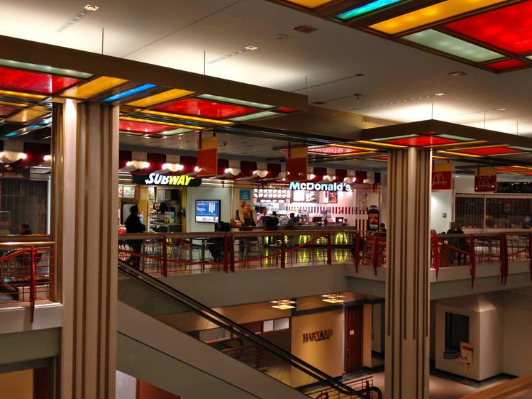 The only downtown Minneapolis McDonald's will close Friday. It is in a food court on the fourth floor at 555 Nicollet Mall, formerly known as Gaviidae Common II.