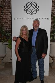 Mandy and John Tinkle, parents of the designer.