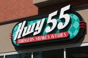 The Hwy 55 restaurant at U Square in Clifton Heights is now open.