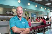 Rick Hoback and his wife, Dawn, are the franchise owners of the Hwy 55 restaurant at U Square in Clifton Heights.