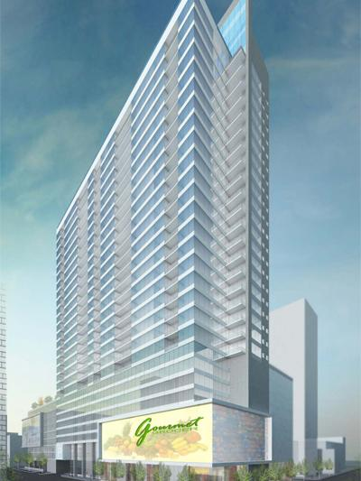 The city of Cincinnati provided a $12 million forgivable loan for the 30-story, 300-unit building at Fourth and Race streets.