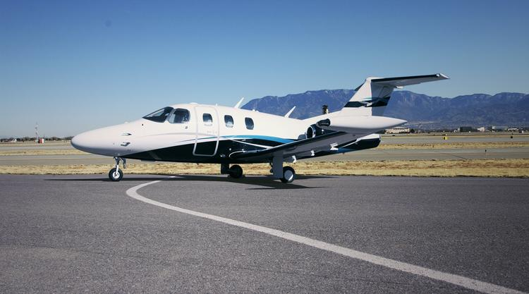 Eclipse Aerospace delivered, and showed, its first Eclipse 550 jet on Tuesday.