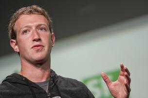 Mark Zuckerberg speaks at Techcrunch 2013.