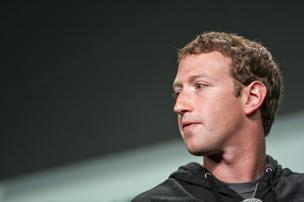 Mark Zuckerberg speaks at Techcrunch 2013 in San Francisco.